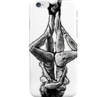 Two suspended yoga teachers  iPhone Case/Skin