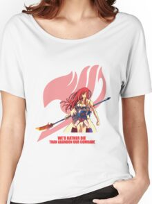 Erza Scarlet - Fairy Tail Women's Relaxed Fit T-Shirt