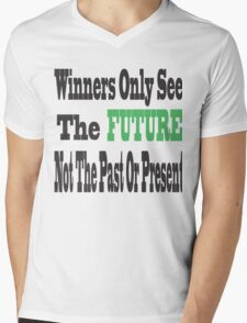 Winners Mens V-Neck T-Shirt