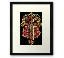 Celtic Cross Framed Print
