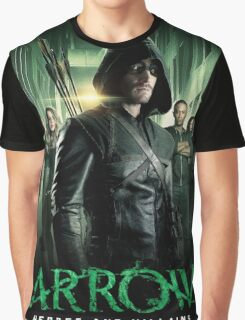 ARROW HEROES AND VILLAINS Graphic T-Shirt