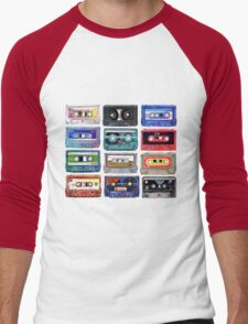 Acrylic Mix Men's Baseball ¾ T-Shirt
