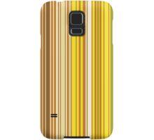 Lots of colorful stripes in orange pattern Samsung Galaxy Case/Skin