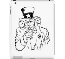 Uncle Sam iPad Case/Skin