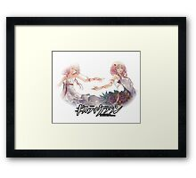 inori reflection image  Framed Print