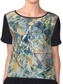 The Perfect Storm Chiffon Top