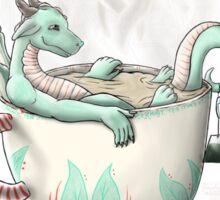 Tea Cup Dragons: Peppermint Sticker
