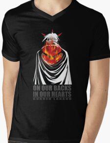 Gurren Lagann - Simon Mens V-Neck T-Shirt