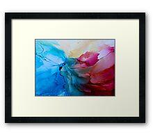 """In Bloom"" - Colorful, Original Artist's Ink Painting! Framed Print"
