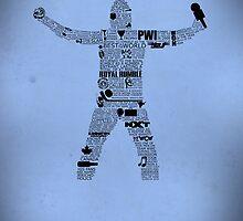 WWE Typography Calender by Ingleburt
