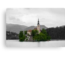 Bled Lake, Slovenia. Canvas Print