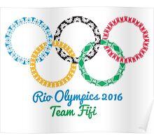 Team Fiji Olympics Poster
