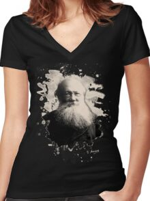 Kropotkin Women's Fitted V-Neck T-Shirt