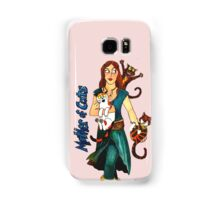 "Skyecatz: ""Mother of Cats"" Samsung Galaxy Case/Skin"