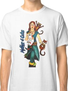 "Skyecatz: ""Mother of Cats"" Classic T-Shirt"