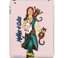 "Skyecatz: ""Mother of Cats"" iPad Case/Skin"