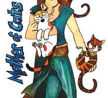 """Skyecatz: """"Mother of Cats"""" by SkyeWieland"""