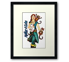 "Skyecatz: ""Mother of Cats"" Framed Print"