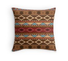 Navajo Native American Pattern Throw Pillow