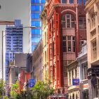Streets of Melbourne by Leonie Morris