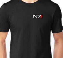 N7 - Black Background Unisex T-Shirt