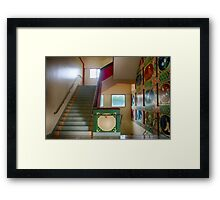 Peace is every step Framed Print