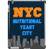 Nutritional Yeast City iPad Case/Skin