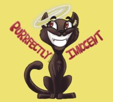 Purrfectly Innocent Baby Tee