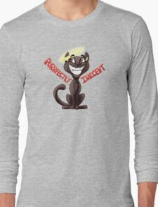 Purrfectly Innocent Long Sleeve T-Shirt