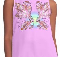 Seelie Purple Wings Contrast Tank