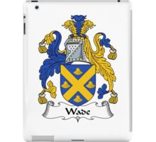Wade Coat of Arms / Wade Family Crest iPad Case/Skin