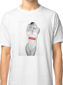 rihanna aND SUPREME Classic T-Shirt