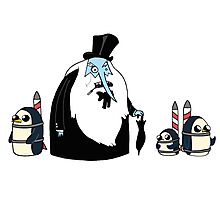 Ice King Crossover Penguin Photographic Print
