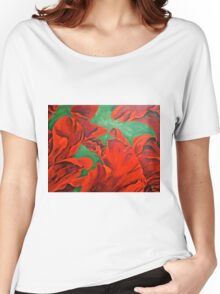 Petals of Fire  Women's Relaxed Fit T-Shirt