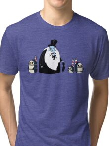 Ice King Crossover Penguin Tri-blend T-Shirt