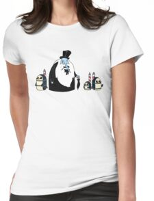Ice King Crossover Penguin Womens Fitted T-Shirt