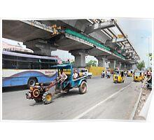 Street Scene Cybercity Poster