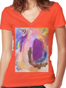 Saturation Women's Fitted V-Neck T-Shirt