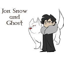 Companions - Snow and Ghost by Smoucan