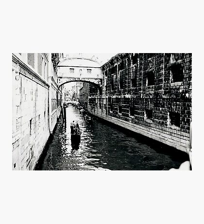 Bridge of Sighs Venice Photographic Print