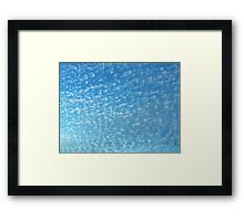 Powdered Sky Framed Print