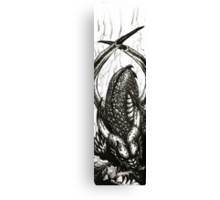 Let Sleeping Dragons Lie Canvas Print