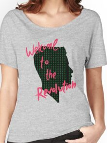 Mr Robot: Welcome to the Revolution, Elliot Binary Head Women's Relaxed Fit T-Shirt