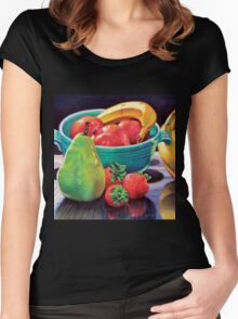 Still Life Reflection Women's Fitted Scoop T-Shirt