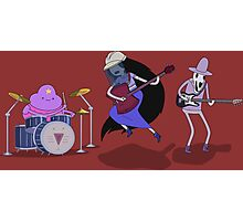 Adventure Time - Marceline and The Band Photographic Print