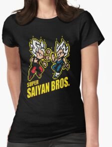 Super Saiyan Bros Womens Fitted T-Shirt