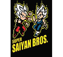 Super Saiyan Bros Photographic Print