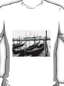 Gondolas Venice T-Shirt