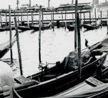 Gondolas Venice Sticker