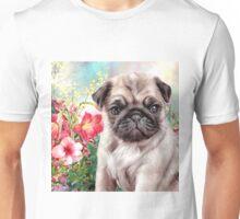 Pug Painting Unisex T-Shirt